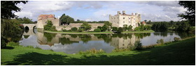 Leeds Castle the panorama