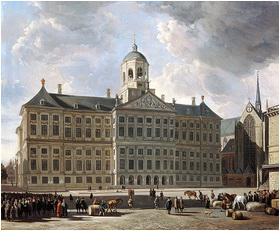 Royal Palace of Amsterdam 1673