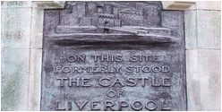 Victoria Monument Liverpool Plaque.