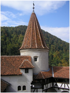 Bran castle tower